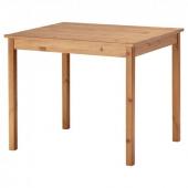 ОЛМСТАД Стол, морилка,антик, 90x70 см