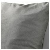 КРОНЭРТ Подушка, серый, 40x40 см