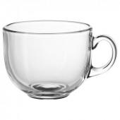 УППГРАДЕРА Чашка большая, прозрачное стекло, 50 сл