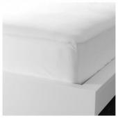 ДВАЛА Простыня натяжная, белый, 160x200 см