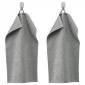 ГЭРЕН Полотенце, классический серый, 30x50 см