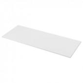 ЛИЛЬТРЭСК Столешница, белый, ламинат, 246x2.8 см