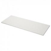 СЭЛЬЯН Столешница, белый под камень, ламинат, 246x3.8 см