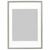 СИЛВЕРХОЙДЕН Рама, серебристый, 50x70 см