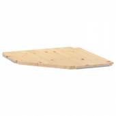 ИВАР Полка угловая, 56x56x30 см