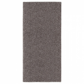 АЛЛЕРСЛЕВ Ковер, длинный ворс, коричневый, 57x120 см