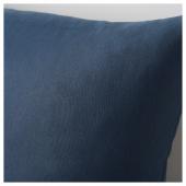ВАЛЬБЬЁРГ Подушка, темно-синий, 50x50 см