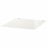 МАЛЬМ Стеклянная столешница, белый, 40x48 см