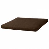 ПОЭНГ Подушка-сиденье на табурет для ног, Шифтебу коричневый