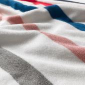 ФОСКОН Полотенце, белый, разноцветный, 50x100 см