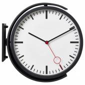 БИССИНГ Настенные часы, черный, 28 см