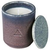 ОСИНЛИГ Ароматическая свеча в банке, Инжир и кипарис, сиреневый синий, 10 см
