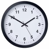 ЧАЛЛА Настенные часы, черный, 28 см