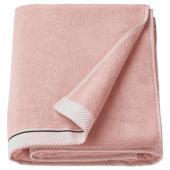 ВИКФЬЕРД Простыня банная, светло-розовый, 100x150 см