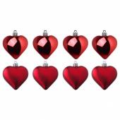 ВИНТЕР 2020 Украшение подвесное, в форме сердца красный