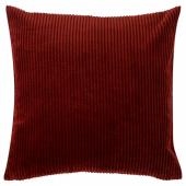 ОСВЕЙГ Чехол на подушку, красный, 50x50 см