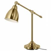 БАРОМЕТР Лампа рабочая, желтая медь