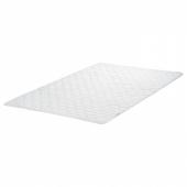 ЛИСМАРКА Тонкий матрас, белый, 140x200 см
