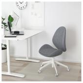 ХАТТЕФЬЕЛЛЬ Рабочий стул, Гуннаред классический серый