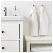 САЛЬВИКЕН Полотенце, белый, 30x50 см