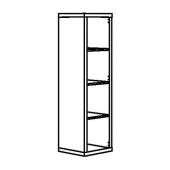 КАЛЛАКС Стеллаж, черно-коричневый, 42x147 см
