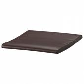 ПОЭНГ Подушка-сиденье на табурет для ног, Глосе темно-коричневый
