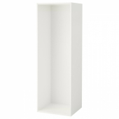 ОПХУС Каркас, белый, 60x55x180 см
