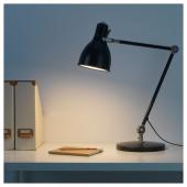 АРЁД Лампа рабочая, антрацит
