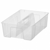 САМЛА Вставка в контейнер 11/22 л, прозрачный, 37x25x12 см