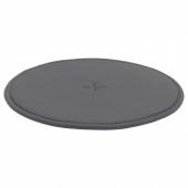 СТРОФЛИ Подушка на стул, темно-серый, 36 см