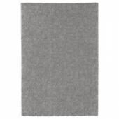 СТОЭНСЕ Ковер, короткий ворс, классический серый, 133x195 см