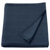 ОДДХИЛЬД Плед, темно-синий, 120x170 см
