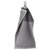 ХИМЛЕОН Полотенце, темно-серый, меланж, 30x50 см