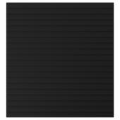 СТОККВИКЕН Дверь, антрацит, 60x64 см