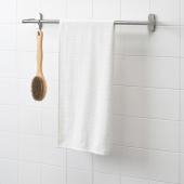 НЭРСЕН Банное полотенце, белый, 55x120 см