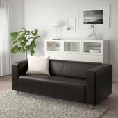 КЛИППАН 2-местный диван, Глосе/Бумстад темно-коричневый