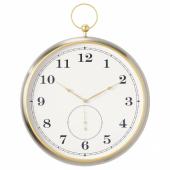 КУТТЕРСМЮККЕ Настенные часы, серебристый, 46 см