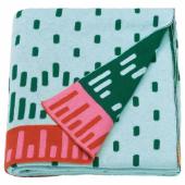 КЭППХЭСТ Детское одеяло, вязаный, разноцветный, 120x150 см