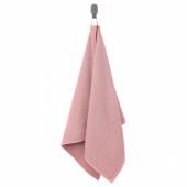 КОРНАН Полотенце, розовый, 50x100 см