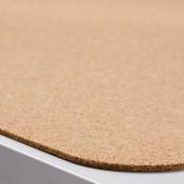 СУСИГ Подкладка на стол, пробка, 45x65 см