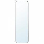 ЛИНДБЮН Зеркало, черный, 40x130 см