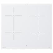 БЭЮБЛАД Индукц варочн панель, ИКЕА 500 белый, 58 см
