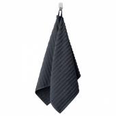 ФЛОДАРЕН Полотенце, темно-серый, 50x100 см