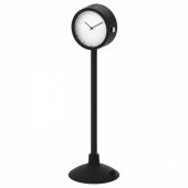 СТАКИГ Часы, черный, 16.5 см