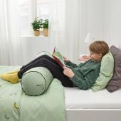 ВЭНКРЕТС Подушка, орнамент «бананы» бледно-зеленый, 80 см