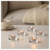 СИНЛИГ Свеча греющая ароматическая, Мускатный орех и ваниль, серый
