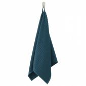 ВОГШЁН Полотенце, темно-синий, 50x100 см