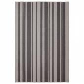 ИБСТЕД Ковер, короткий ворс, серый, 120x180 см