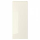 ВОКСТОРП Дверь, глянцевый светло-бежевый, 40x100 см
