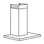 МАТЭЛСКАРЕ Колпак вытяжного шкафа стенн крепл, черный, 60 см